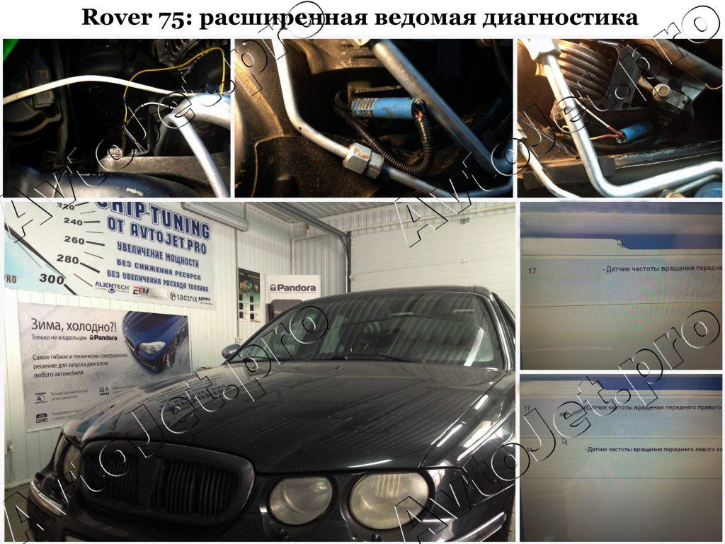 Расширенная ведомая диагностика_Rover 75_AvtoJet.pro