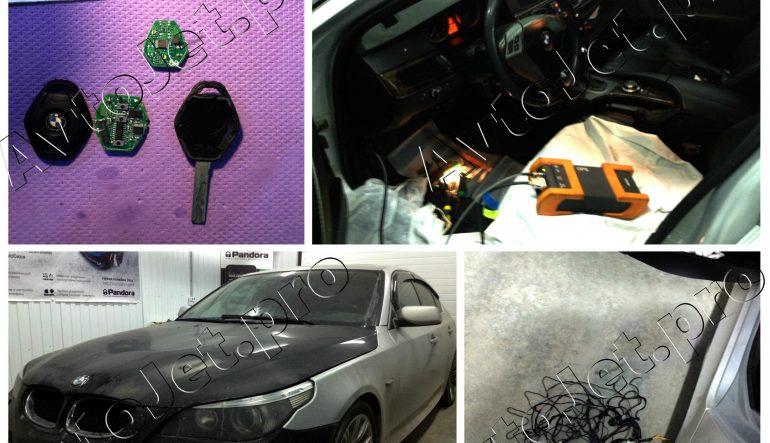 """""""Реанимирование"""" и восстановление работоспособности автомобиля BMW-5 E60."""