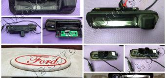 Ремонт подсветки номера, интегрированной с камерой заднего вида на автомобиле Ford Focus-3