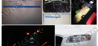 Удаление Crash Data Airbag Audi A-4
