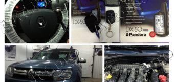 Установка автосигнализации Pandora DX-50B на автомобиль Renault Duster