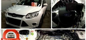 Установка автосигнализации StarLine A93-ECO на автомобиль Ford Focus-3.