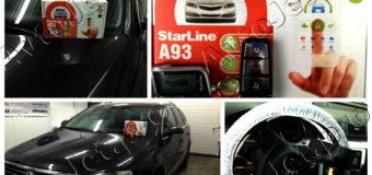 Установка автосигнализации StarLine A93-ECO на автомобиль Volkswagen Passat-B6
