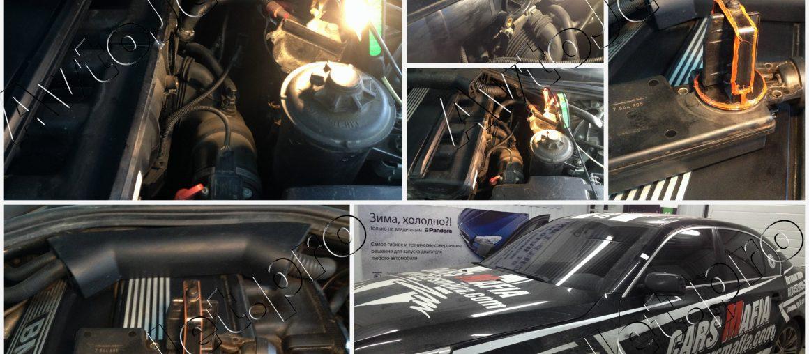 Профилактика работы DISA на автомобиле BMW-5 E60