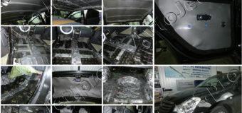 Полная шумоизоляция класса стандарт-комбо и Chip-Tuning автомобиля Nissan Almera
