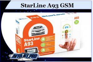 StarLine A93 GSM