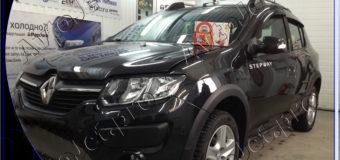 Установка автосигнализации StarLine A93-ECO на автомобиль Renault Sandero Stepway