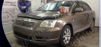 Установка автосигнализации StarLine A93-ECO на автомобиль Toyota Avensis