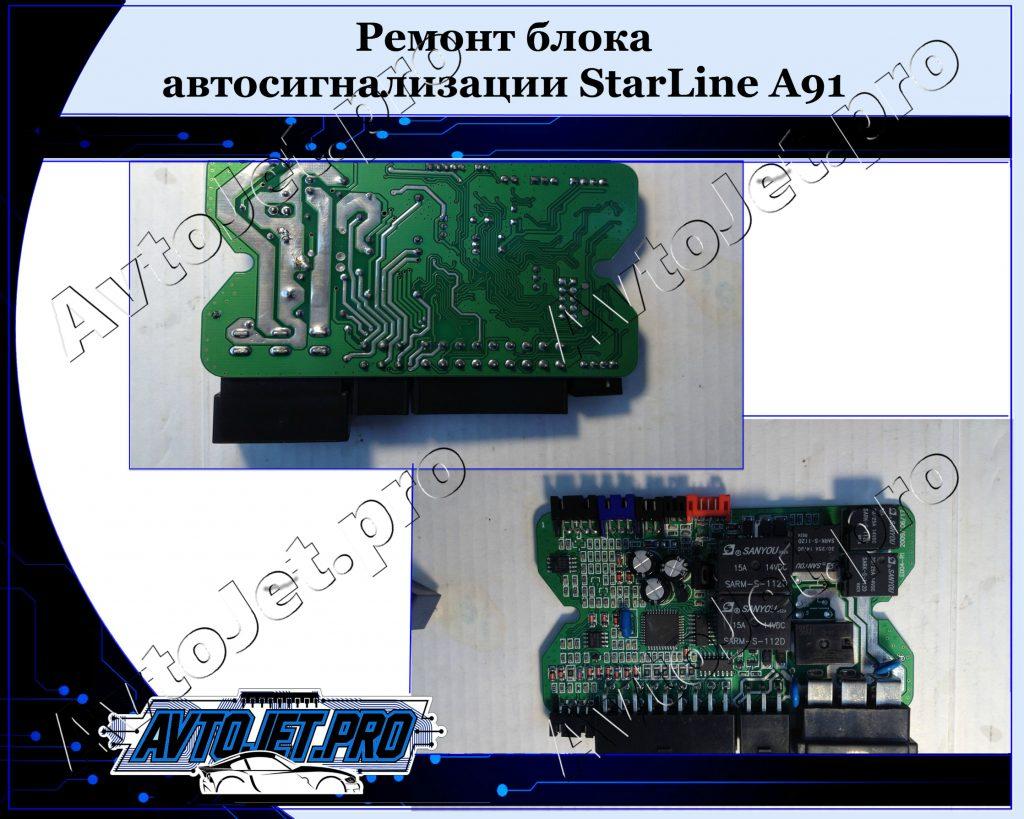 Remont bloka_StarLine A91_AvtoJet.pro