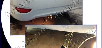 Ремонт парктроников на автомобиле Hyundai Solaris