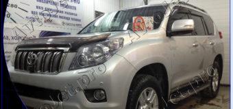 Установка автосигнализации StarLine A93-ECO на автомобиль Toyota Land Cruiser Prado 150
