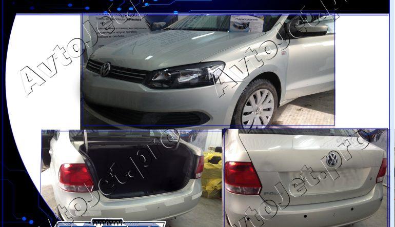 Установка парковочных радаров на автомобиль Volkswagen Polo