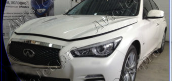 Chip-tuning автомобиля Infiniti Q50