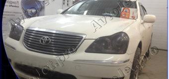 Установка автосигнализации StarLine A93 GSM на автомобиль Toyota Crown Majesta
