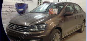 Установка автосигнализации StarLine A93-GSM на автомобиль Volkswagen Polo