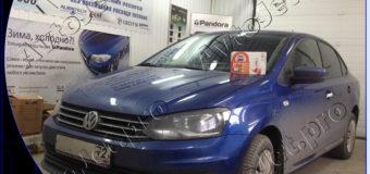 Установка автосигнализации StarLine A93-ECO на автомобиль Volkswagen Polo