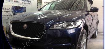 Разработка и реализация индивидуального охранного комплекса на автомобиль Jaguar F-Pace