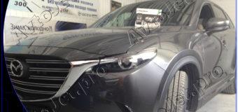 Установка автосигнализации Pandora DXL 3945 PRO на автомобиль Mazda CX-9