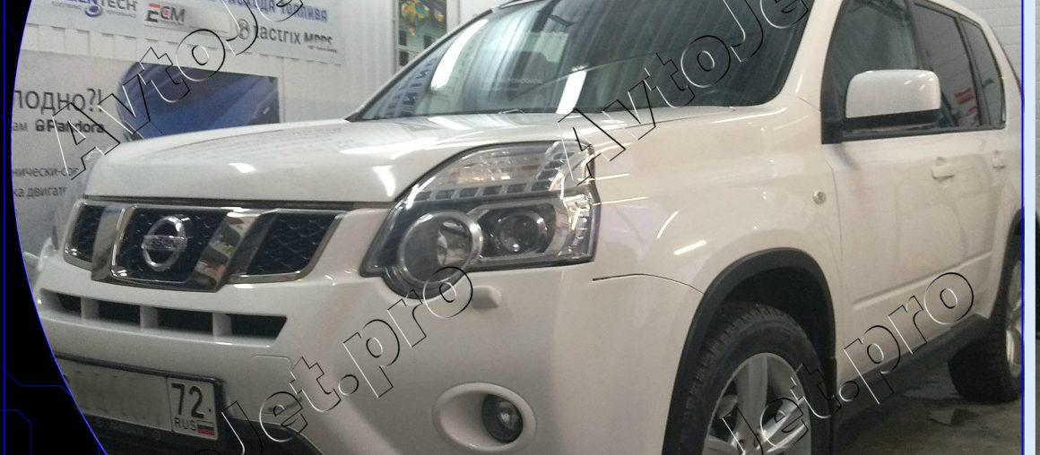 Chip-tuning автомобиля Nissan X-Trail
