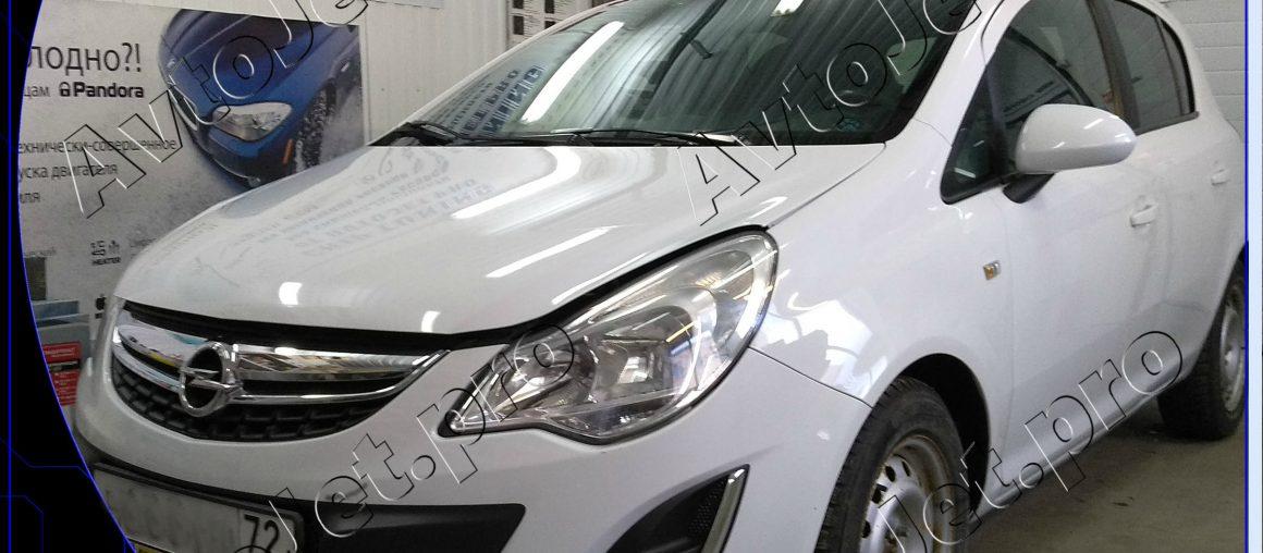Chip-tuning автомобиля Opel Corsa D