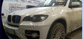 Установка автосигнализации Pandora DXL 3945 Pro на автомобиль BMW Х6