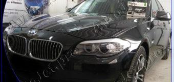 Установка автосигнализации Pandora DXL 3945 Pro на автомобиль BMW 528i xDrive (F10)