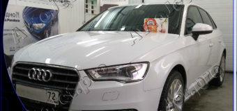 Установка автосигнализации StarLine A93-ECO на автомобиль Audi A3