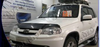 Установка автосигнализации StarLine A93-ECO на автомобиль Chevrolet Niva