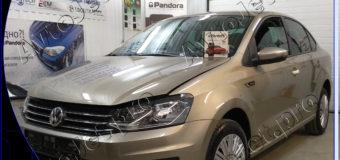 Установка автосигнализации Pandora DXL 3910 Pro на автомобиль Volkswagen Polo