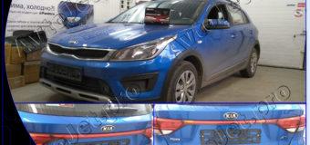 Установка парковочных радаров на автомобиль Kia Rio X-Line