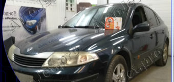 Установка автосигнализации StarLine A93-ECO на автомобиль Renault Laguna