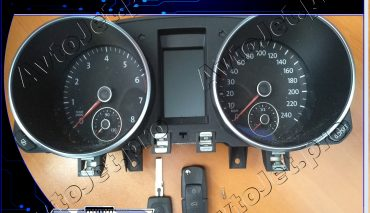 Изготовление автомобильного ключа на автомобиль Volkswagen Golf VI