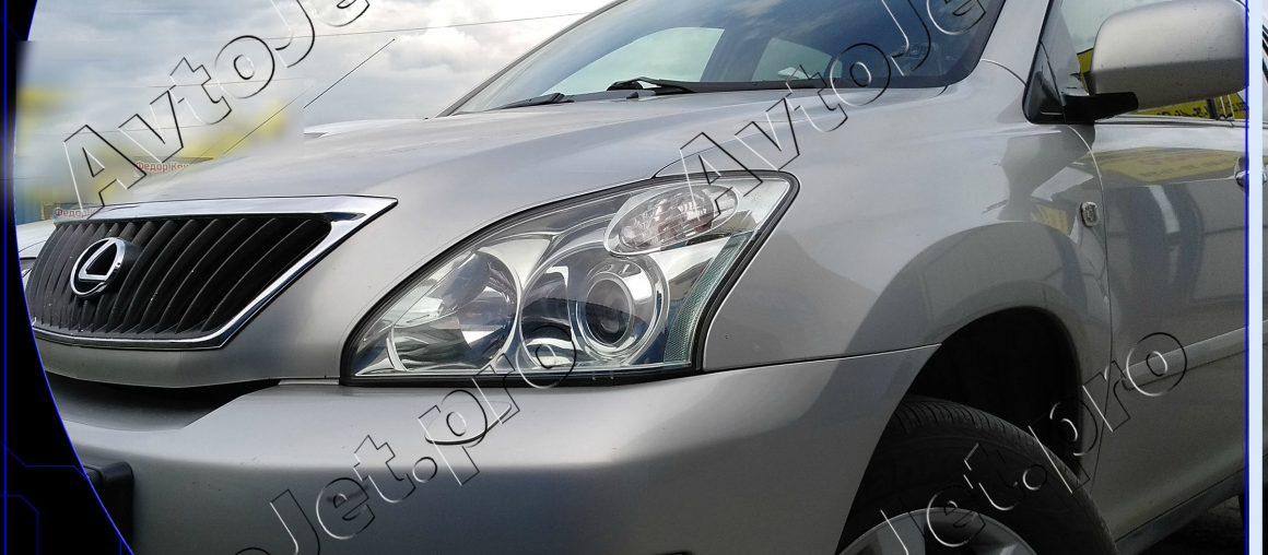 Chip-tuning автомобиля Lexus RX-350
