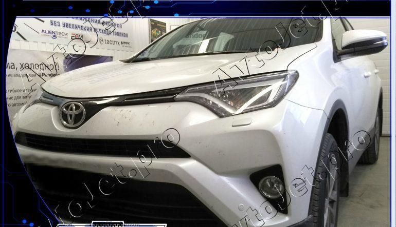 Chip-tuning автомобиля Toyota RAV-4