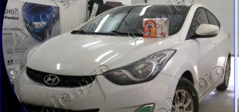 Установка автосигнализации StarLine A93-ECO на автомобиль Hyundai Avante