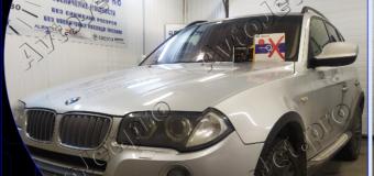 Установка автосигнализации Pandora DX9Х на автомобиль BMW Х3