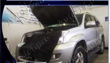 Chip-tuning автомобиля Toyota Land Cruiser Prado 120