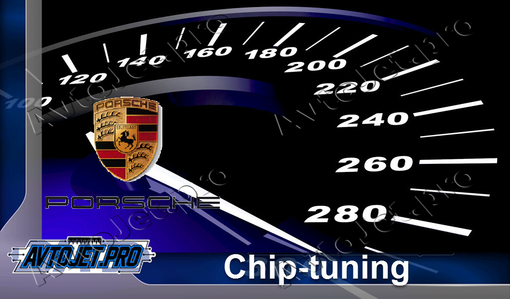 Chip-Tuning Porsche