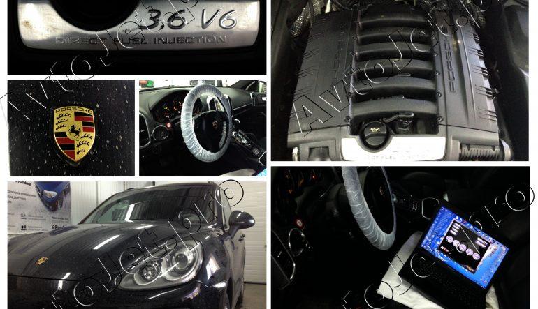 Chip-Tuning автомобиля Porsche Cayenne