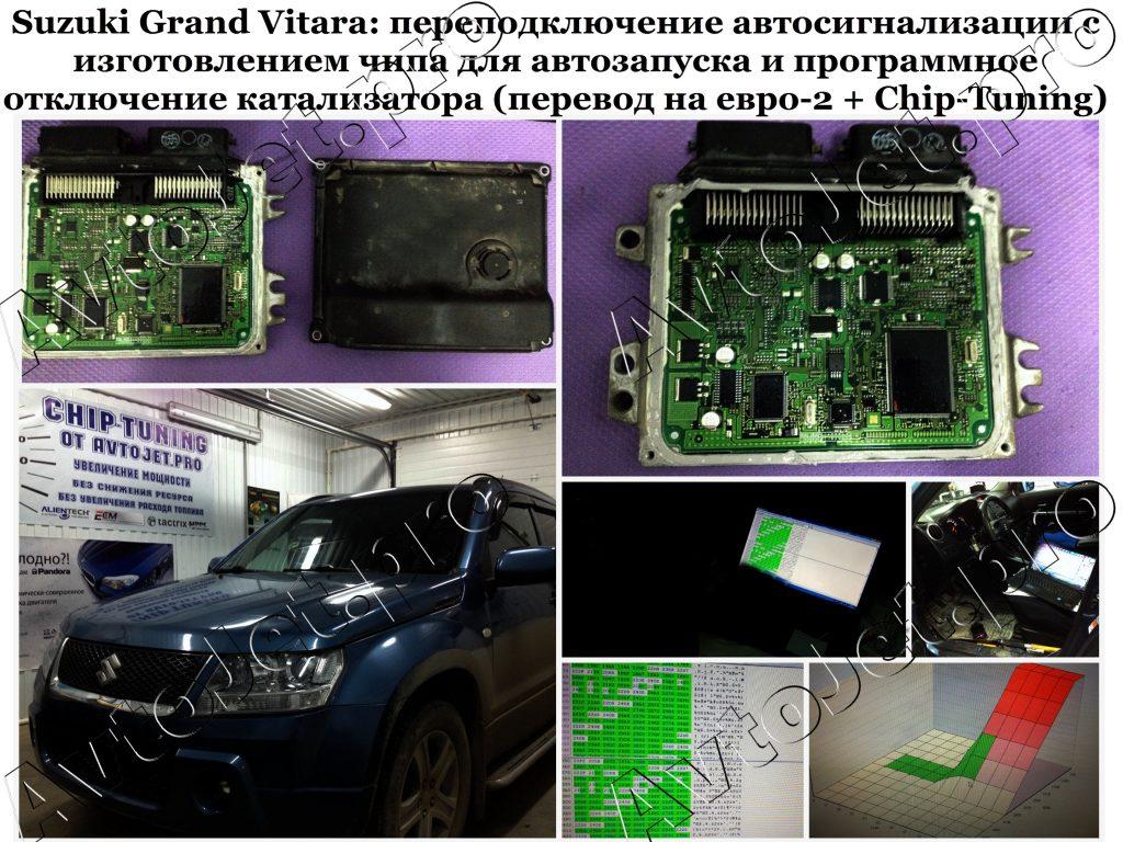 Переподключение автосигнализации_Чип для АЗ_Chip-Tuning_Suzuki Grand Vitara_AvtoJet.pro