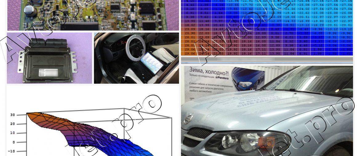 Chip-Tuning автомобиля Nissan Almera 2005 года выпуска