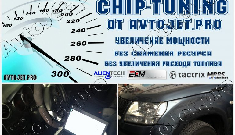 Chip-Tuning автомобиля Suzuki Grand Vitara