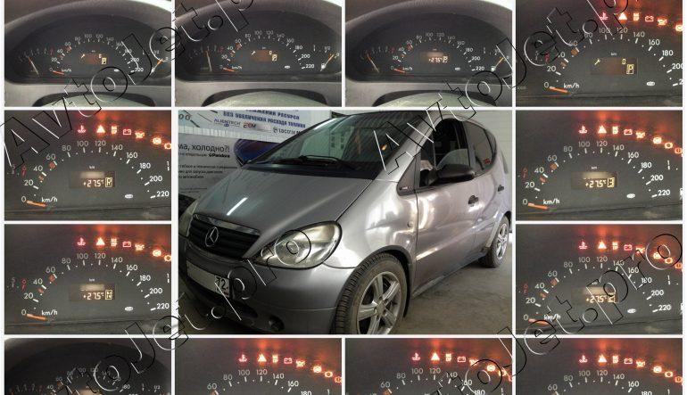 Ремонт блока селектора АКПП автомобиля Mercedes-Benz A-class (W168)