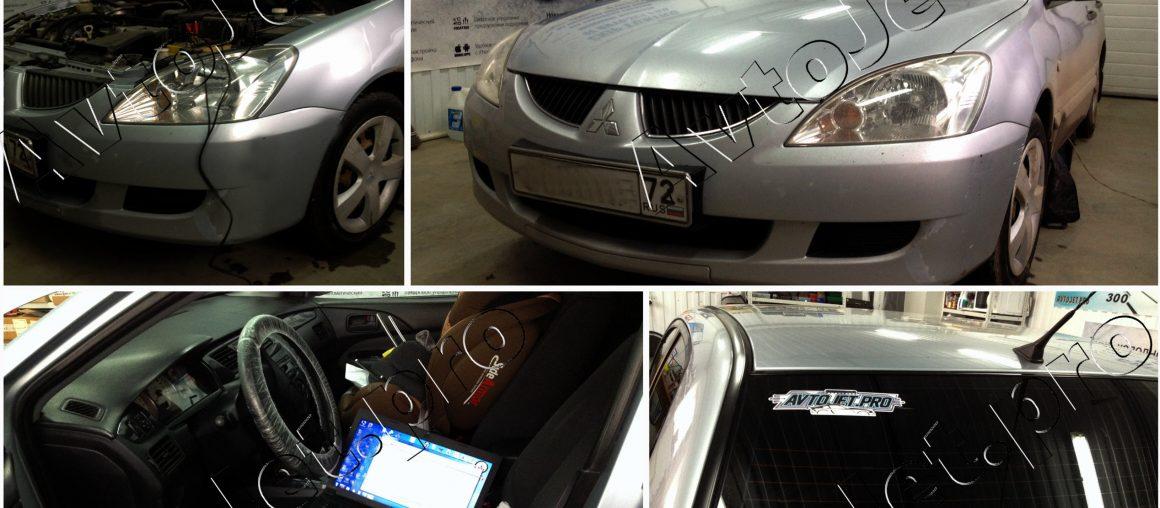 Chip-Tuning автомобиля Mitsubishi Lancer IX