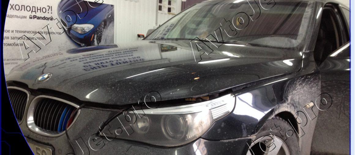 Chip-tuning и отключение EGR и DPF на автомобиле BMW 530d
