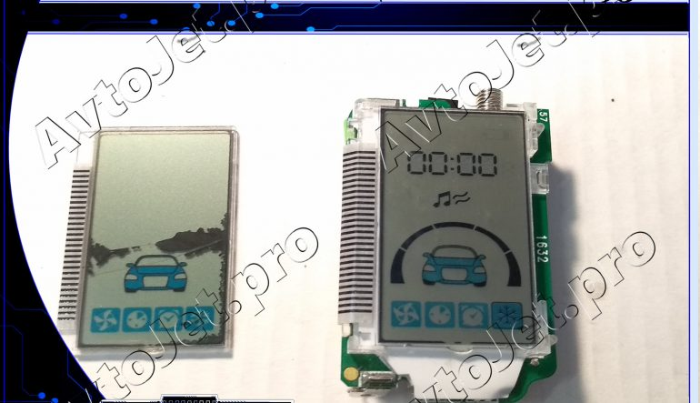 Замена дисплея брелока автосигнализации StarLine A93