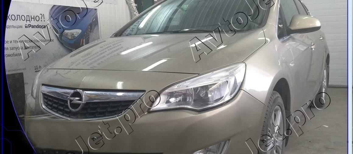 Chip-tuning автомобиля Opel Astra J (turbo)