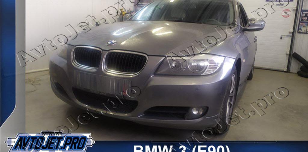 Chip-tuning автомобиля BMW-3 (E90)