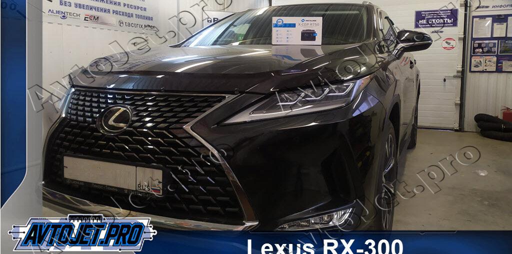 Установка разнесенного радар-детектора на автомобиль Lexus RX-300
