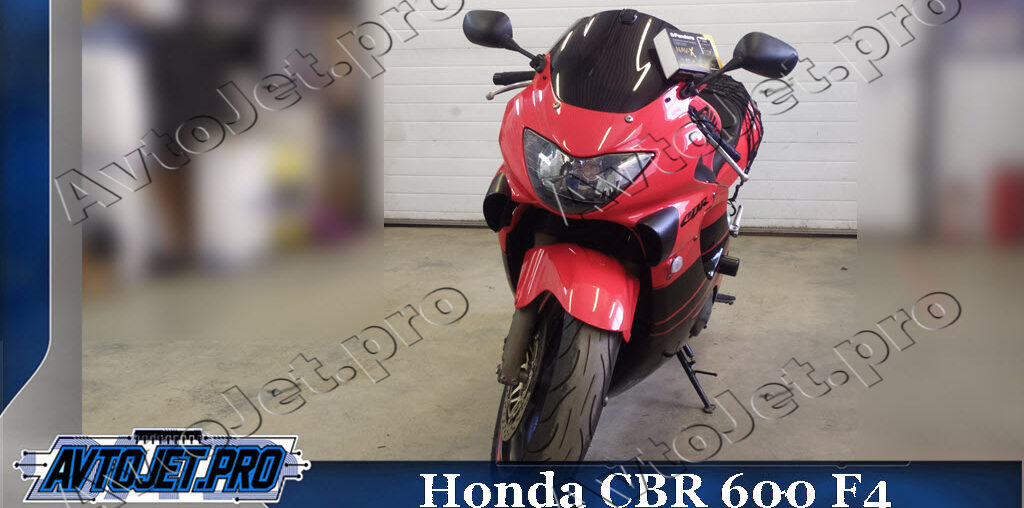 Установка Pandora NAV-X на мотоцикл Honda CBR 600 F4